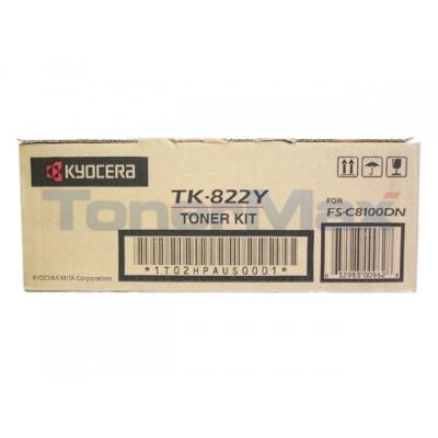 KYOCERA TONER KIT/FS-C8100DN/YELLOW